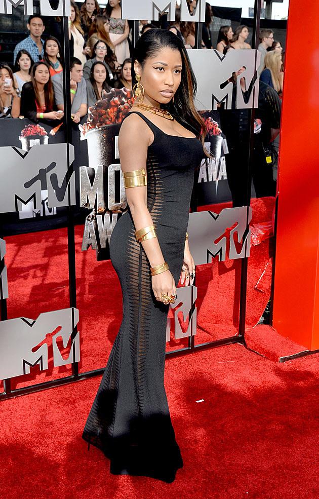Nicki Minaj Shows Some Skin