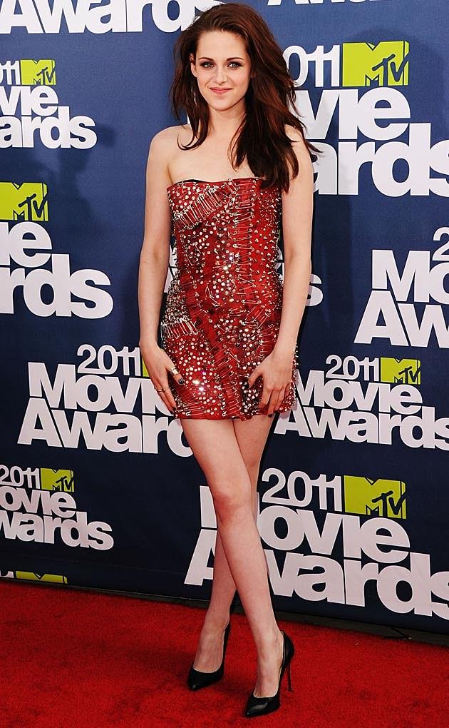 Kristen Stewart Red Mini