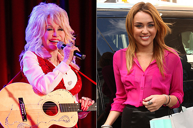 Dolly Parton & Miley Cyrus
