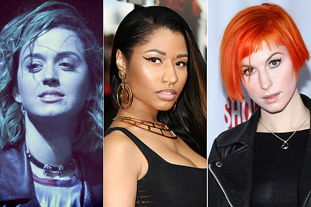 Katy Perry / Nicki Minaj / Hayley Williams