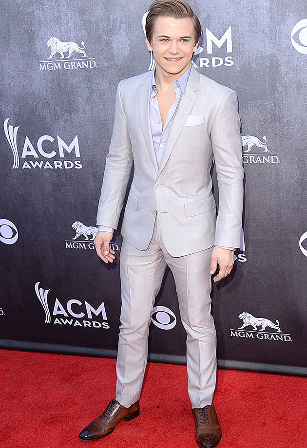 Hunter Hayes at 2014 ACM Awards