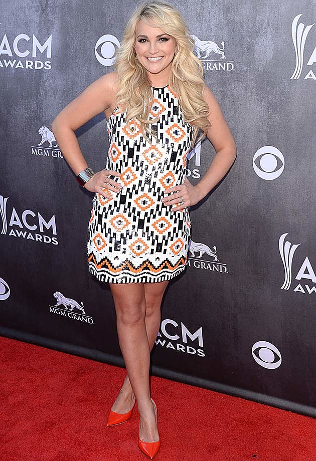 Jamie Lynn Spears at 2014 Academy of Country Music Awards