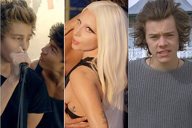 5 Second Of Summer Lady Gaga One Direction