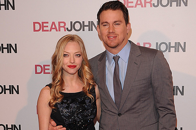 Amanda Seyfriend and Channing Tatum