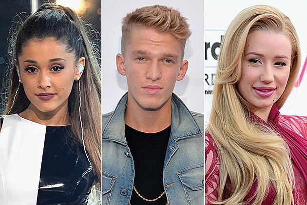 Ariana Grande, Cody Simpson and Iggy Azalea