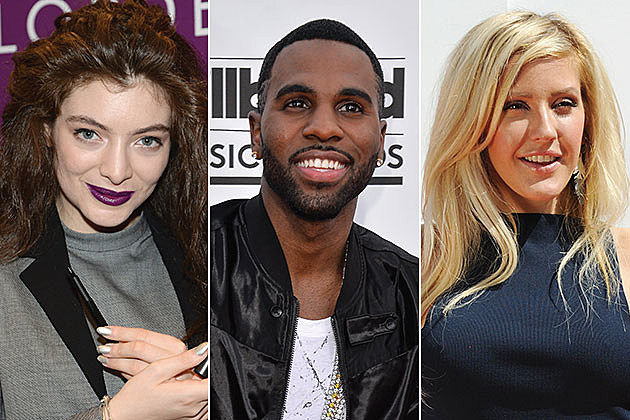 Lorde, Jason Derulo and Ellie Goulding