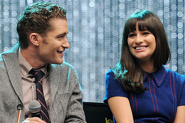 Matthew Morrison and Lea Michele