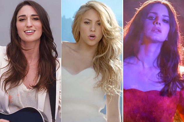 Sara Bareilles Shakira Lana Del Rey
