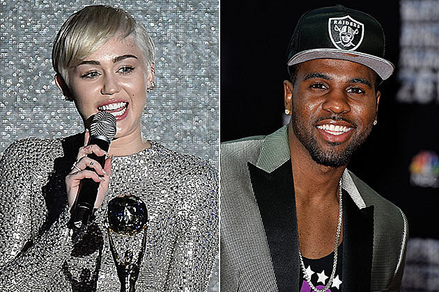 Miley Cyrus and Jason Derulo