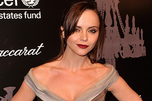 christina ricci red dress