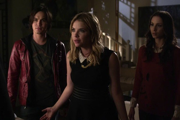 Tyler Blackburn Ashley Benson Troian Bellisario