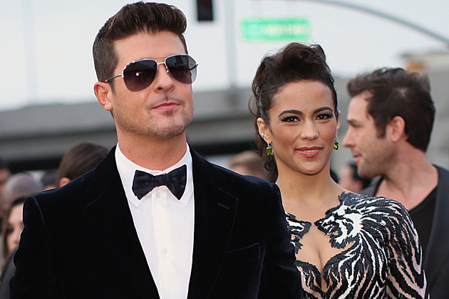 Robin Thicke / Paula Patton
