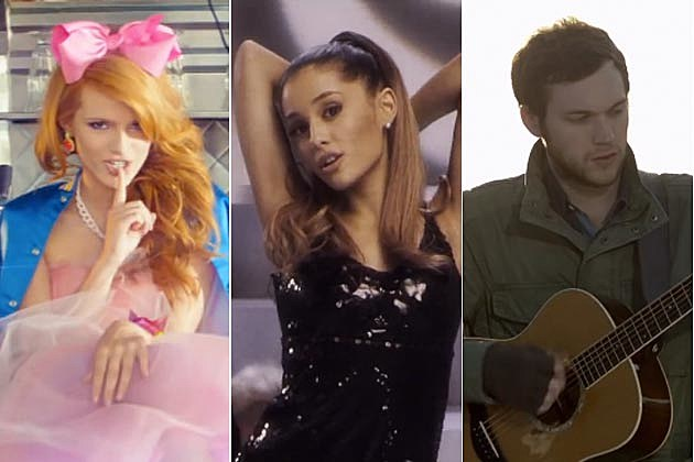 Bella Thorne Ariana Grande Phillip Phillips