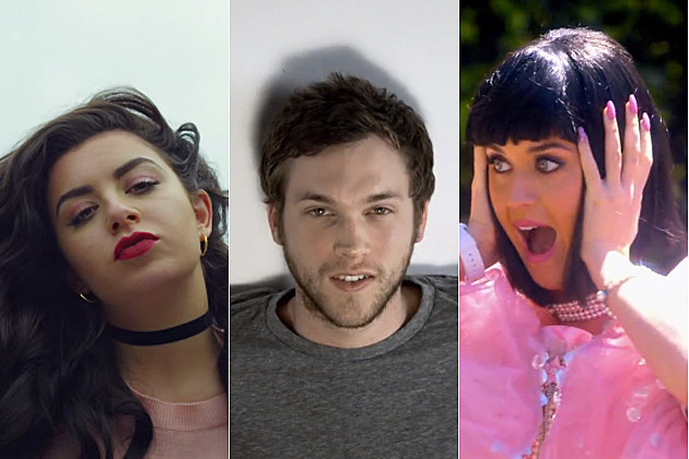 Charli XCX Phillip Phillips Katy Perry