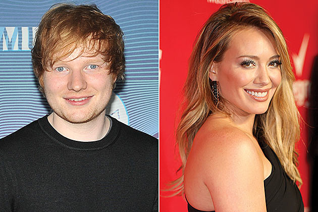 Ed Sheeran and Hilary Duff