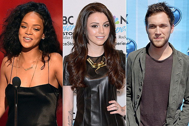Rihanna / Cher Lloyd / Phillip Phillips