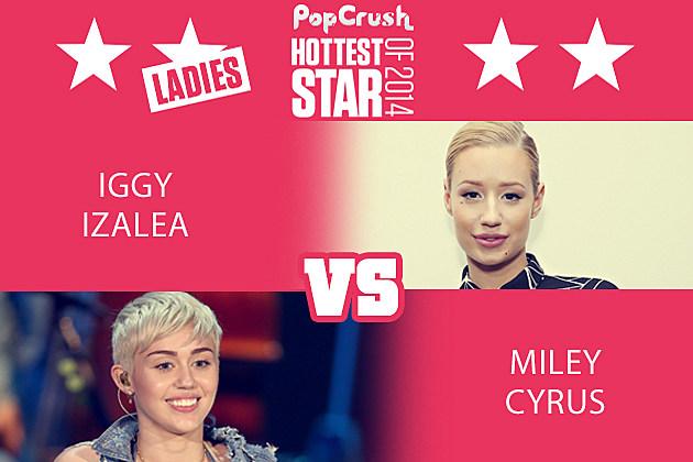 Iggy Azalea Miley Cyrus
