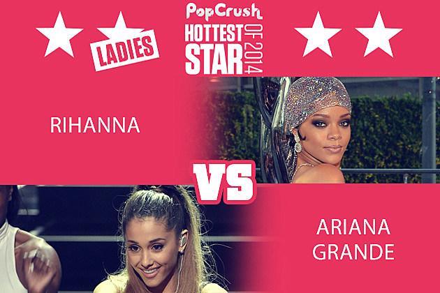 Rihanna Ariana Grande