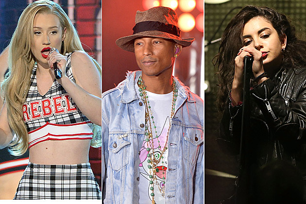 Iggy Azalea / Pharrell / Charli XCX