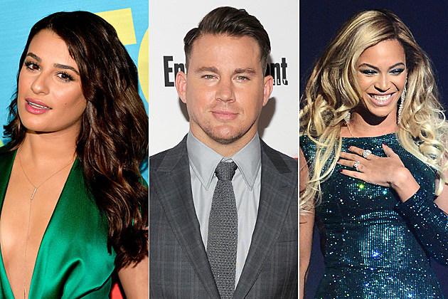 Lea Michele / Channing Tatum / Beyonce