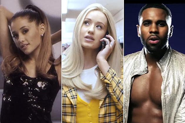 Ariana Grande, Iggy Azalea + Jason Derulo