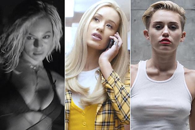 Beyonce, Iggy Azalea + Miley Cyrus