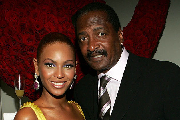 Beyonce + Matthew Knowles
