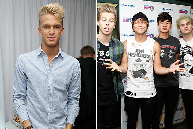 Cody Simpson + 5 Seconds of Summer
