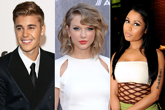 Justin Bieber / Taylor Swift / Nicki Minaj