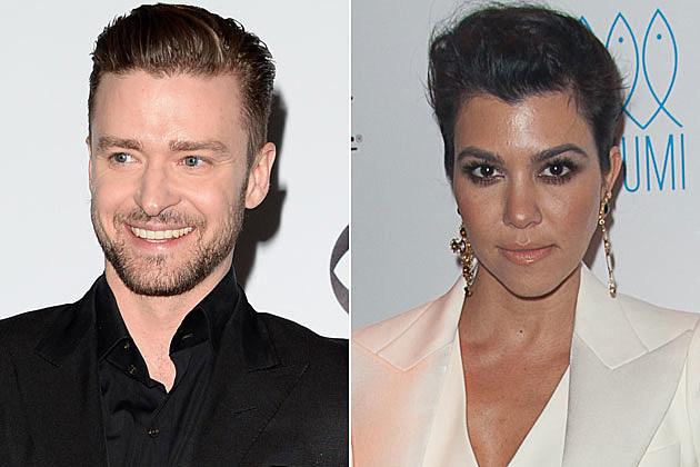 Justin Timberlake + Kourtney Kardashian