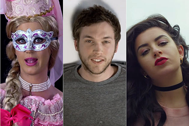 Katy Perry Phillip Phillips Charli XCX