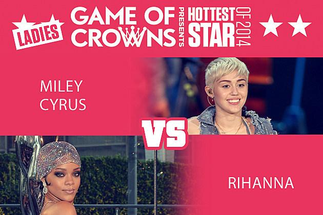Miley Cyrus Rihanna