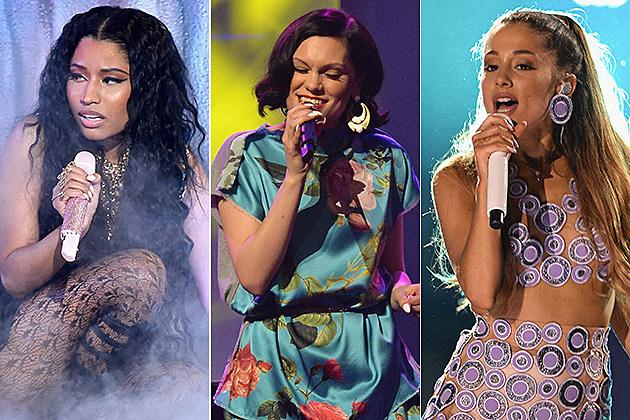 Nicki Minaj / Jessie J / Ariana Grande
