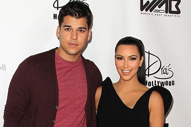 Rob Kardashian + Kim Kardashian