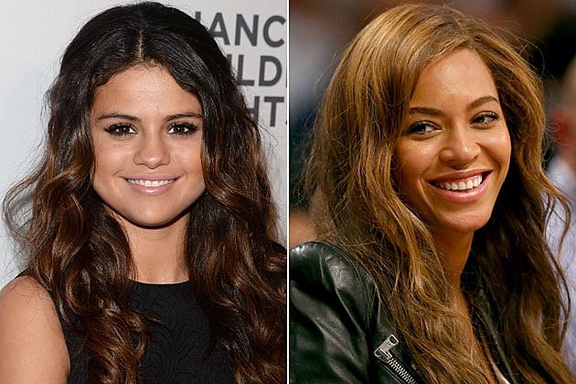 Selena Gomez + Beyonce