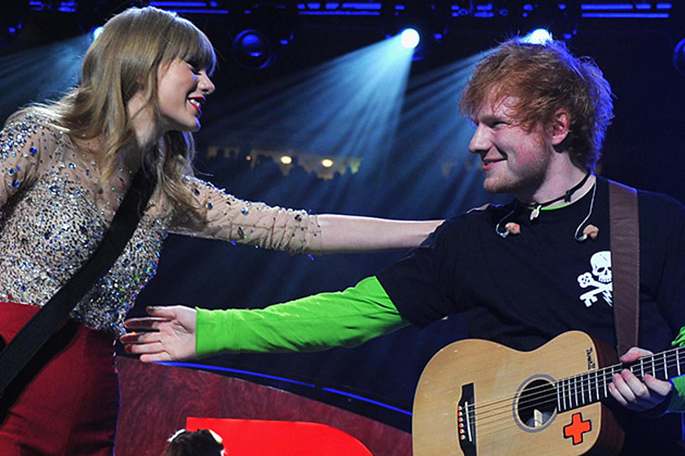 Ed Sheeran Argued With Taylor Swift Over Everything Has Changed