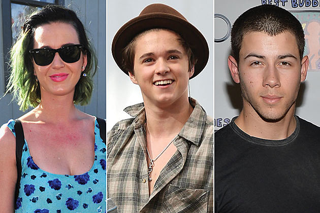 Katy Perry, Brad Simpson of the Vamps, Nick Jonas