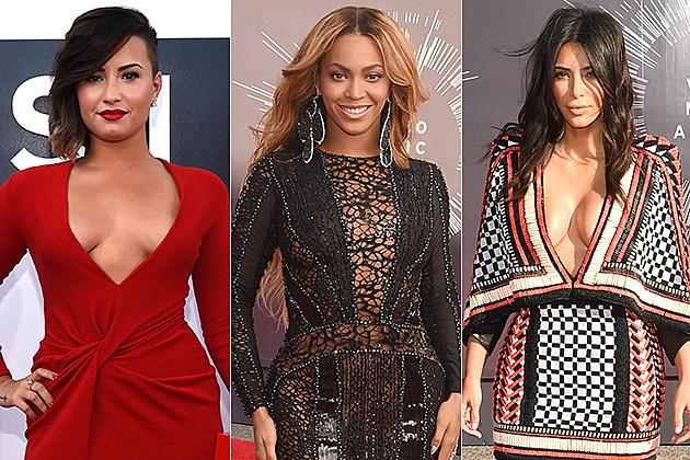 Demi Lovato / Beyonce / Kim Kardashian