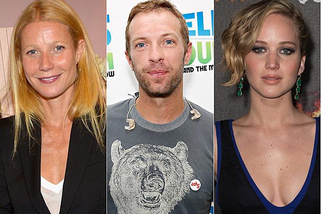 Gwyneth Paltrow Chris Martin Jennifer Lawrence