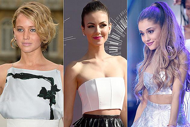 Jennifer Lawrence / Victoria Justice / Ariana Grande
