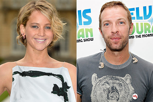 Jennifer Lawrence Chris Martin