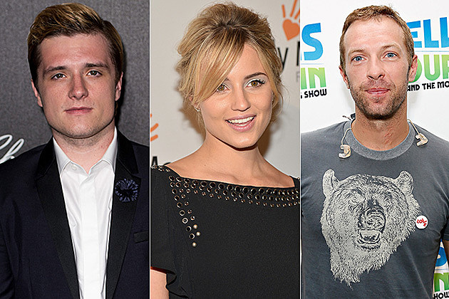 Josh Hutcherson / Diana Argon / Chris Martin