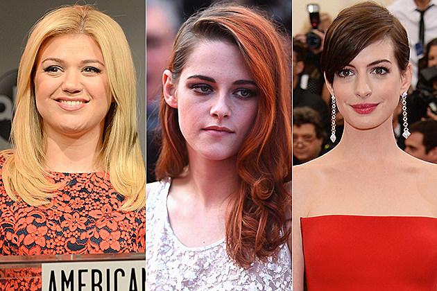 Kelly Clarkson / Kristen Stewart / Anne Hathaway