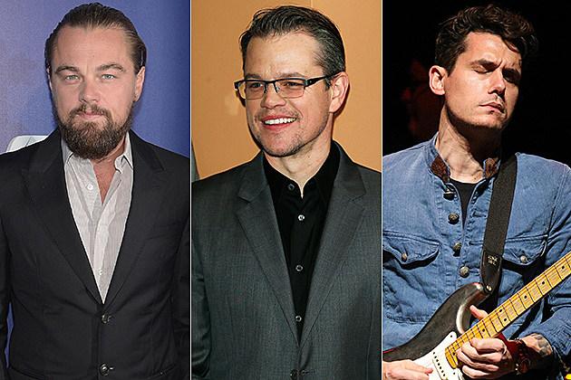 Leo / Matt Damon / John Mayer