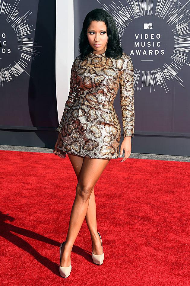 Nicki Minaj Responds To VMA Wardrobe Malfunction!