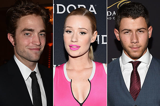 Robert Pattinson, Iggy Azalea + Nick Jonas