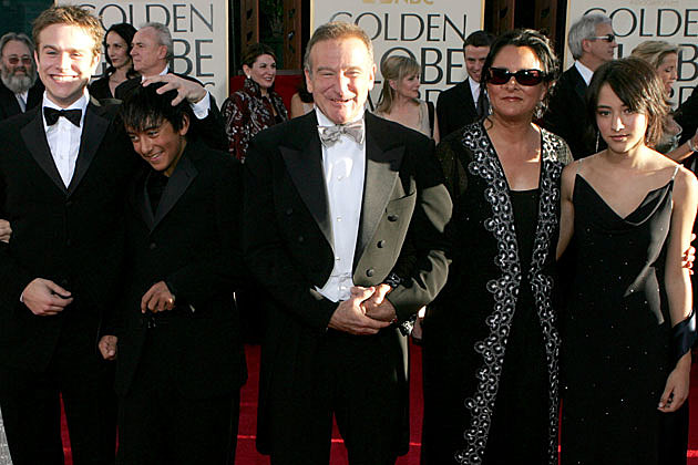 Robin Williams + Family