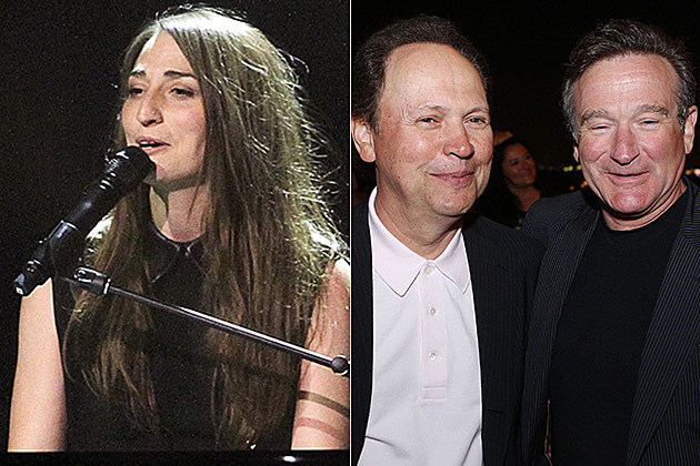 Sara Bareilles / Billy Crystal and Robin Williams