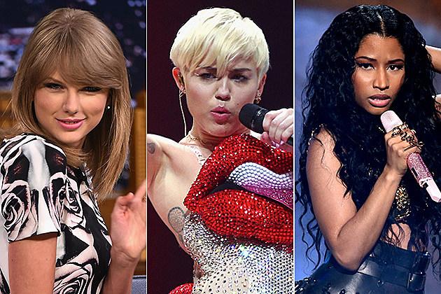 Taylor Swift / Miley Cyrus / Nicki Minaj