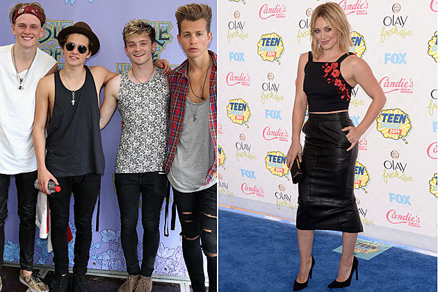 The Vamps Hilary Duff